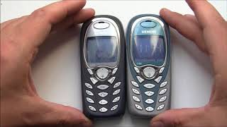 SIEMENS A60 vs C60 Cell Phone