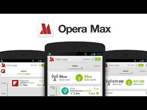 Opera Max App Review