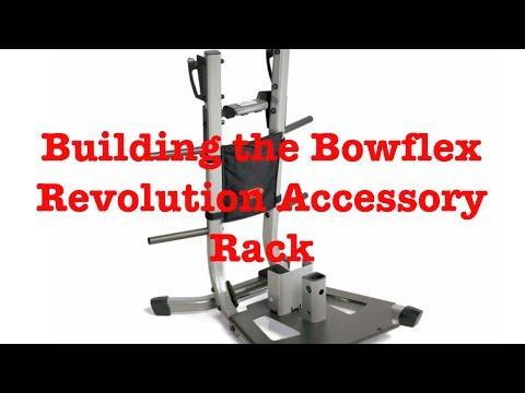 Building the Bowflex Revolution Accessory Rack