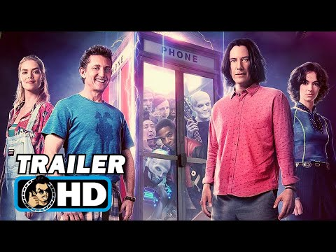 """BILL AND TED 3: FACE THE MUSIC """"A Most Triumphant Duo"""" Trailer (2020)"""