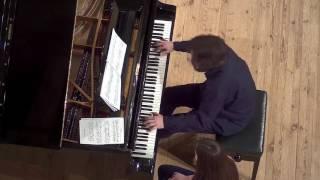 Baryshevskyi plays Stockhausen: Klavierstück #5