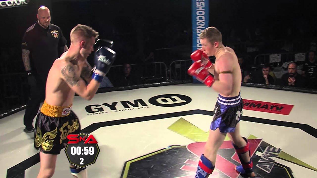 Shock N Awe 21 Semi Pro K1 Kickboxing Aaron Dean vs Mason Hobbs