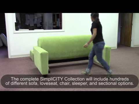 SimpliCITY Designer Collection for small homes and city apartments
