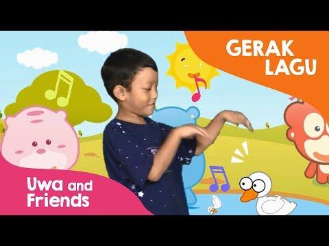 Gerak Lagu Anak - Lagu Anak Tari Potong Bebek Angsa