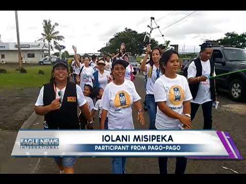 AMERICAN SAMOA REMEMBERS CYCLONE GITA DURING INC'S  WORLDWIDE WALK TO FIGHT POVERTY