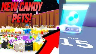 *NEW* CANDY UPDATE IN PET SIMULATOR! *TIER 15 PETS* (Roblox)