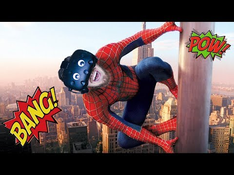 BECOME SPIDERMAN! | Spider-Man: Homecoming VR - HTC Vive Gameplay