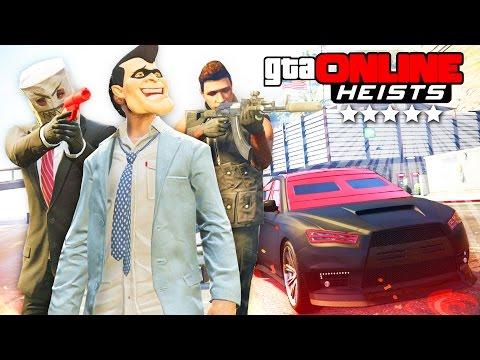 GTA 5 Online (Heists)