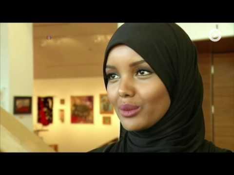 Девушка в хиджабе на конкурсе «Мисс Миннесота»