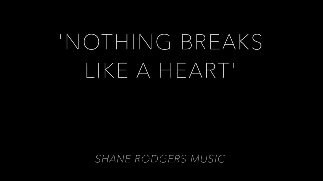 'Nothing Breaks Like A Heart' | Mark Ronson Ft. Miley Cyrus (Shane Rodgers Cover) image