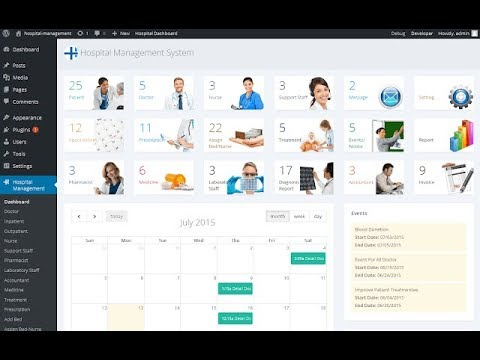 Download Hospital Management System Project - Installation - Plugin - Documentation
