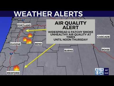 Air Quality Alert In Effect Until Thursday