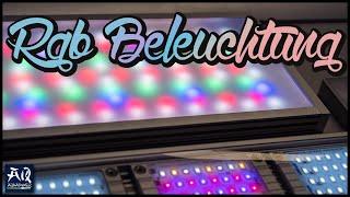 DIE BESTE BELEUCHTUNG | Bessere Farbwiedergabe mit RGB LED Beleuchtung | AquaOwner