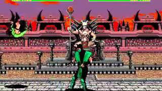 Mortal Kombat 2 - Reptile (Sega Genesis) (By Sting)