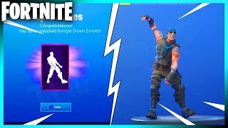 Comment débloquer RARE Boogie Down Emote GRATUIT! (Fortnite Battle Royale)