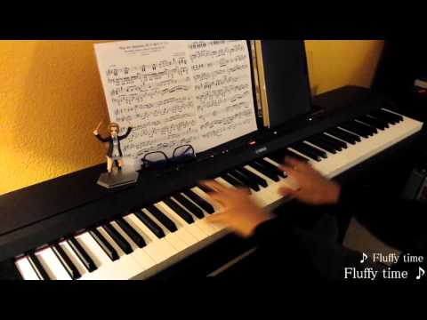 K-On! (けいおん!) -「ふわふわ時間 (たいむ)」/ Fuwa Fuwa Time - Piano