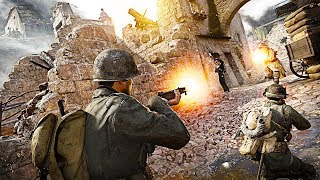 MONTE CASSINO | Call of Duty: WW2 United Front DLC 3 Gameplay