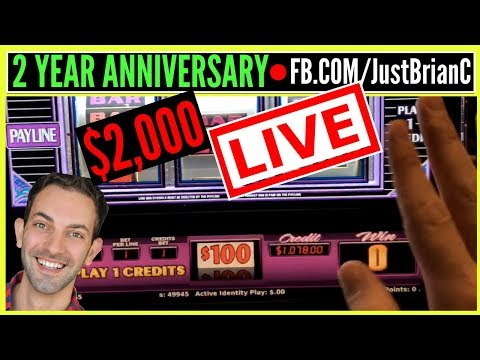 🔴 $2,000 Live Stream ✦ $100 Wheel of Fortune + MORE! 🎉🍾 ✦ Slot Machine Pokies w Brian Christopher