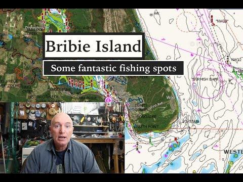 BRIBIE ISLAND Fishing, SEQ My Favourite Spots. (maps)