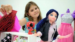Мультики для девочек Леди БАГ и Супер Кот: #Маринетт меняет профессию! Видео про игрушки