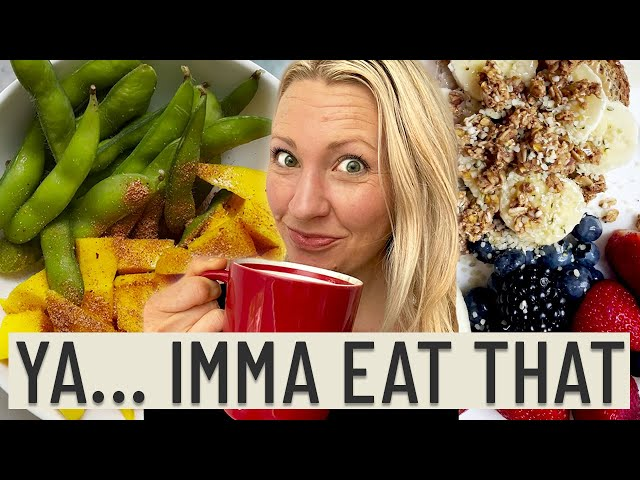 What a Dietitian HONESTLY Eats in a Day (Finally the TRUTH)