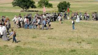Confederate advance