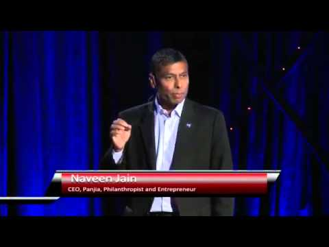 Naveen Jain at Tedx in San Francisco