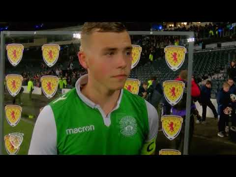 YOUTH CUP | Reaction: Ryan Porteous | Aberdeen 1-3 Hibernian