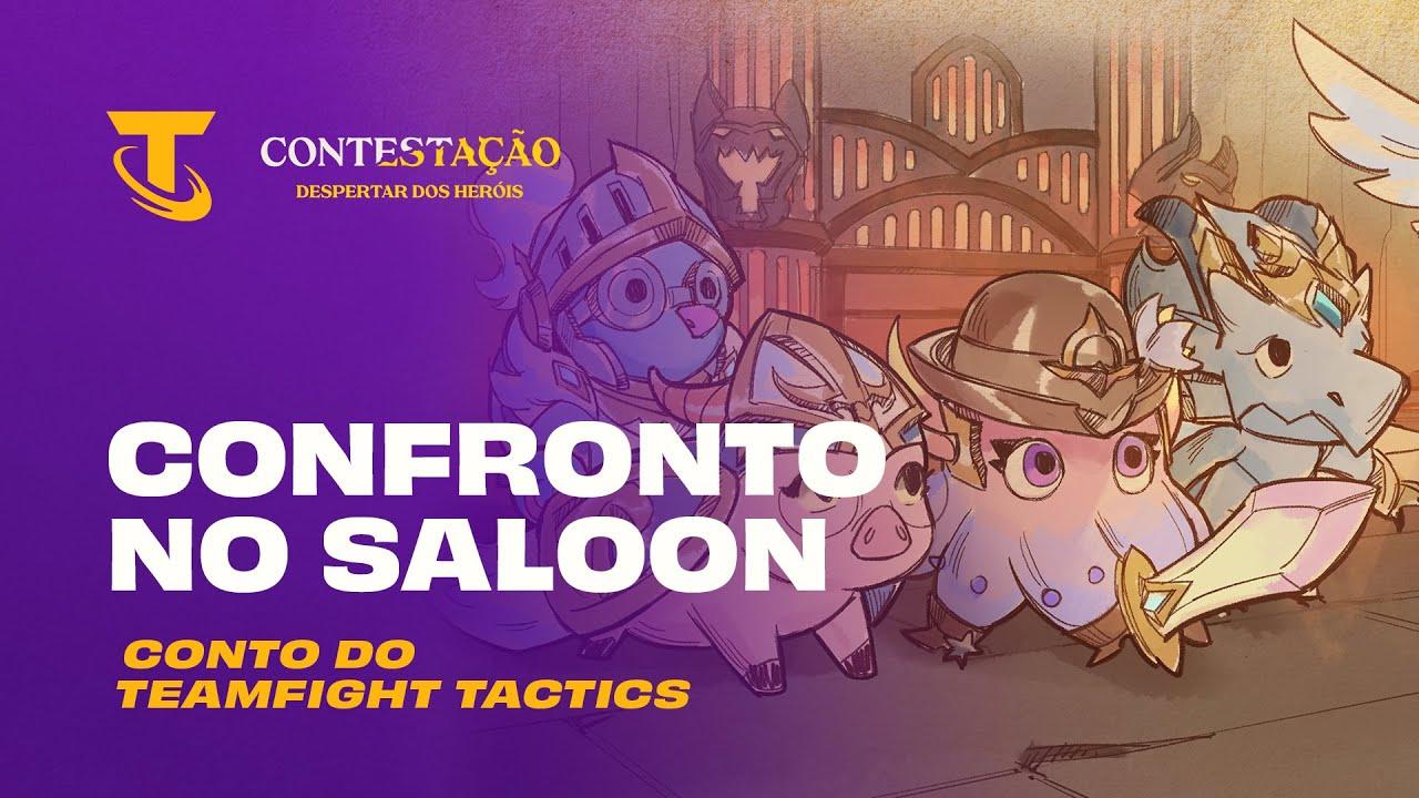 Conto do Teamfight Tactics | Confronto no Saloon