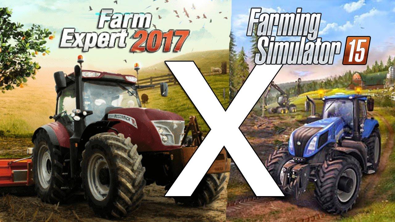 Farm Expert 2017 Versus Farming Simulator 2015 Comparação de Otimização