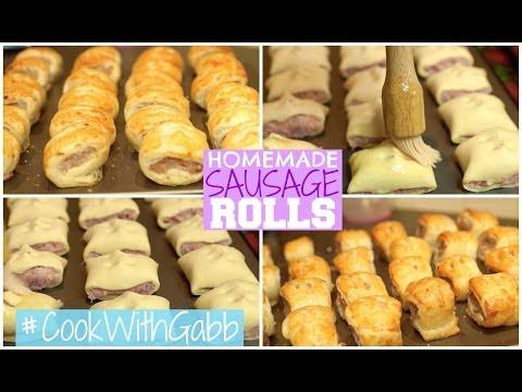 Sausage Rolls // #CookWithGabb | PlanetGabb ♡