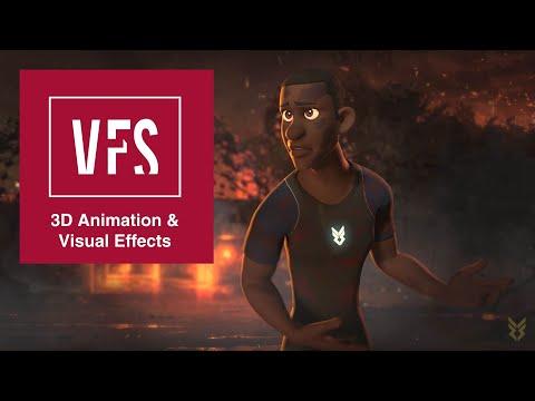 Vashu Savani: Animation Demo Reel - Vancouver Film School (VFS)