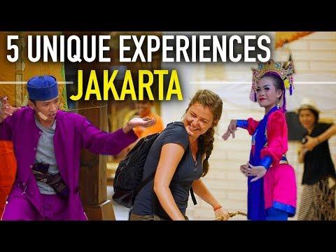 5 UNIQUE EXPERIENCES IN JAKARTA!! 🇮🇩