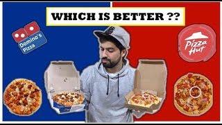 Dominos VS Pizza Hut | Honest Reviews