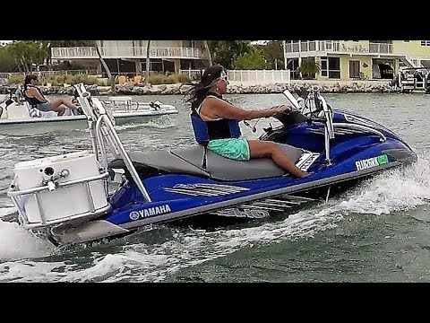 HOW TO Setup Rig YAMAHA WaveRunner FX SHO for Fishing