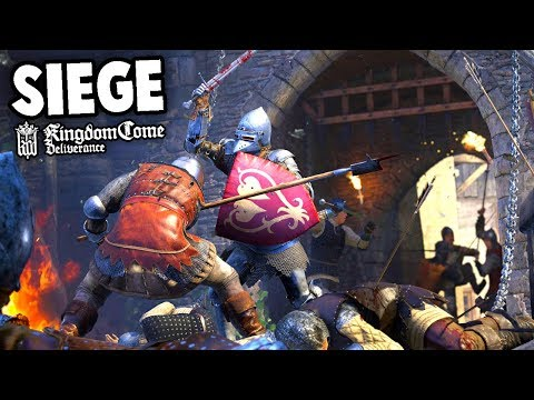 EPIC Castle Siege & Sword Fights!   Kingdom Come Deliverance Gameplay!  (Kingdom Come Ep 1)