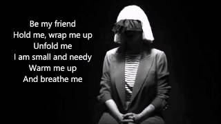 Sia - Breathe Me (live) With Lyrics