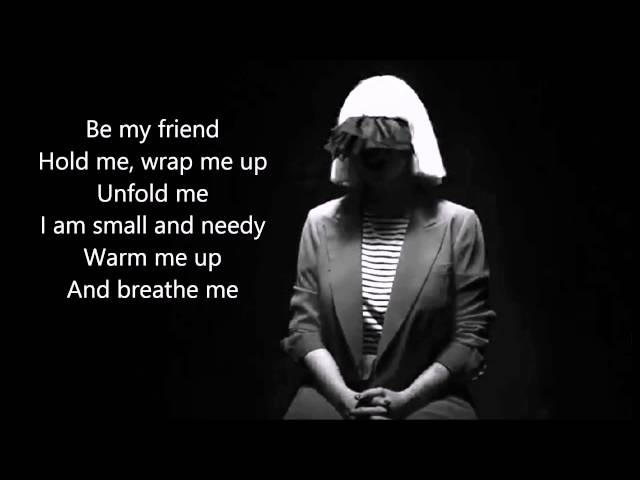 Sia Breathe Me Live With Lyrics Chords Chordify