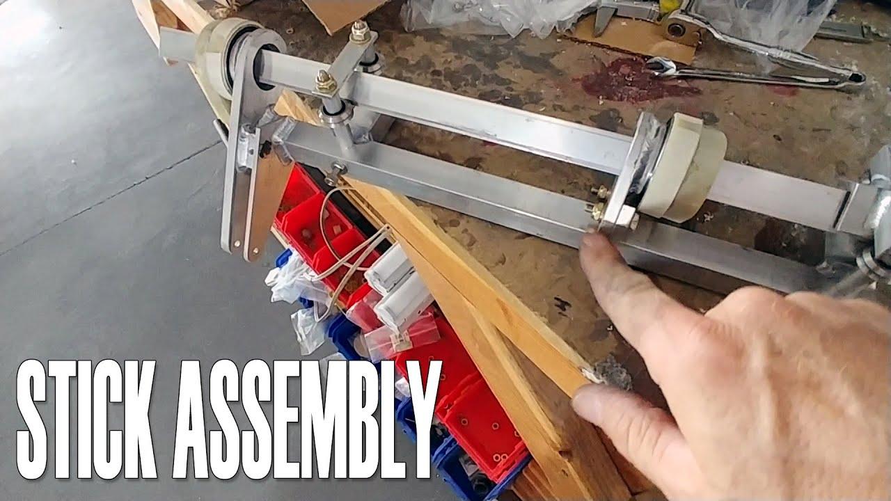 Stick Assembly - Building the Raptor Prototype