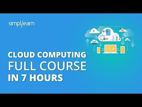 Cloud Computing Full Course | Cloud Computing Tutorial For Beginners | Cloud Computing | Simplilearn