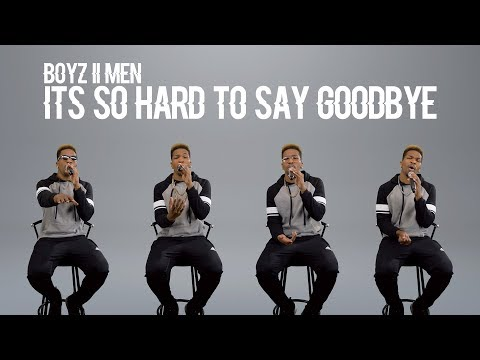 Boyz II Men - It's So Hard To Say Goodbye To Yesterday (@DesmondMDennis Cover)