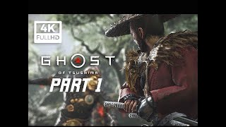 GHOST OF TSUSHIMA Walkthrough Gameplay Part 1 - First 3 Hours! (PS4 PRO 4K)