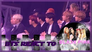 COMPILATION BTS REACT TO BLACKPINK MP3