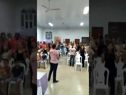 Momento do Espírito no Grupo de Oração Real em Porangatu.