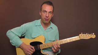 Guitar Lesson - Buddy Holly - Words Of Love