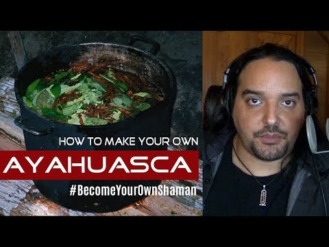 How To Make Ayahuasca At Home - VIDEO