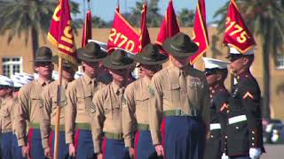 Marine Recuit Graduation MCRD San Diego