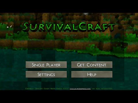 Трейлер Игры SurvivalCraft