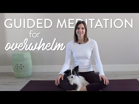 Overwhelmed? Practice This Short Guided Meditation