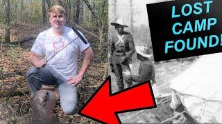 METAL DETECTING LONG LOST SPANISH AMERICAN WAR CAMP FOR RELICS!!!